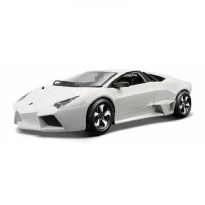 Автомодель Bburago- LAMBORGHINI REVENTON (ассорти матовый белый, серый металлик 1:24) 18-21041