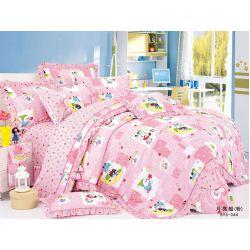 """Комплект постельного белья ТМ """"LOVE YOU"""" для новорожденных cr-17008"""