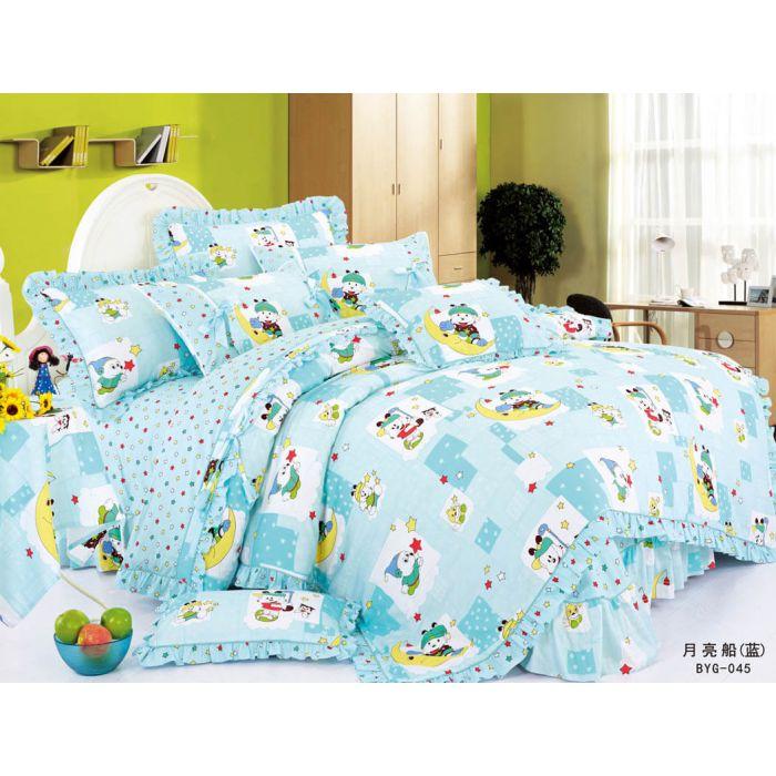 """Комплект постельного белья ТМ """"LOVE YOU"""" для новорожденных cr-17009"""