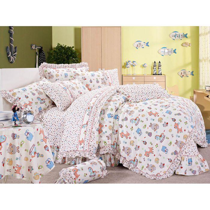 """Комплект постельного белья ТМ """"LOVE YOU"""" для новорожденных cr-17016"""