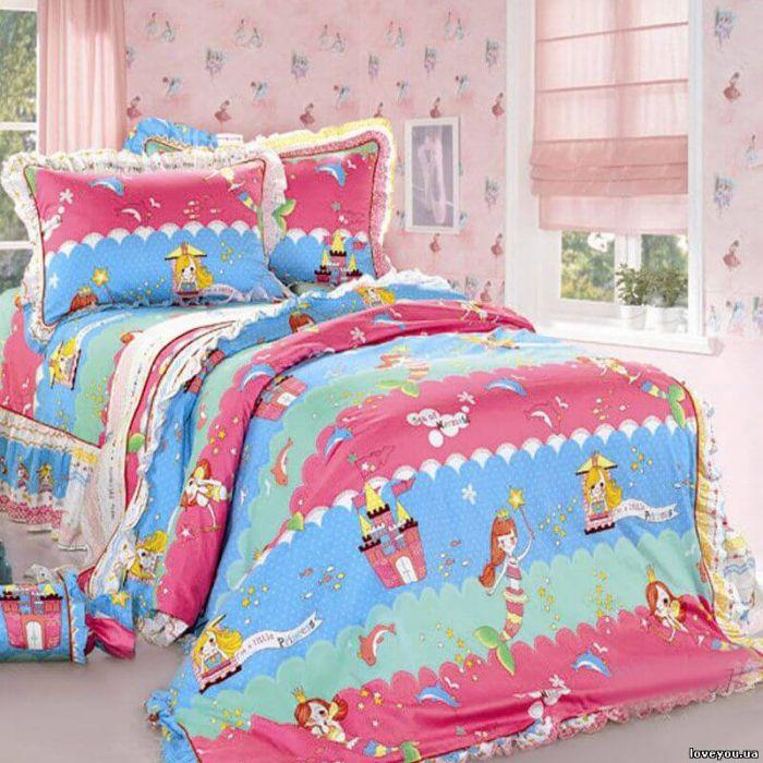 """Комплект постельного белья ТМ """"LOVE YOU"""" для новорожденных  cr-467"""