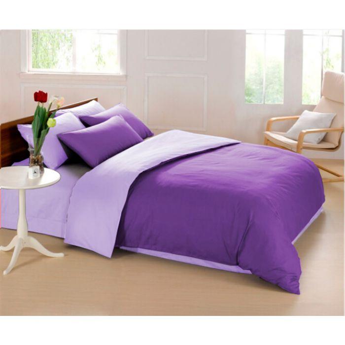 """Комплект постельного белья ТМ """"LOVE YOU"""" 10 фиолетовый"""