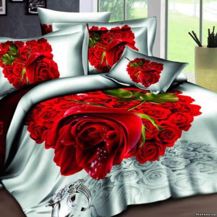 """Комплект постельного белья ТМ """"LOVE YOU""""  счастье"""