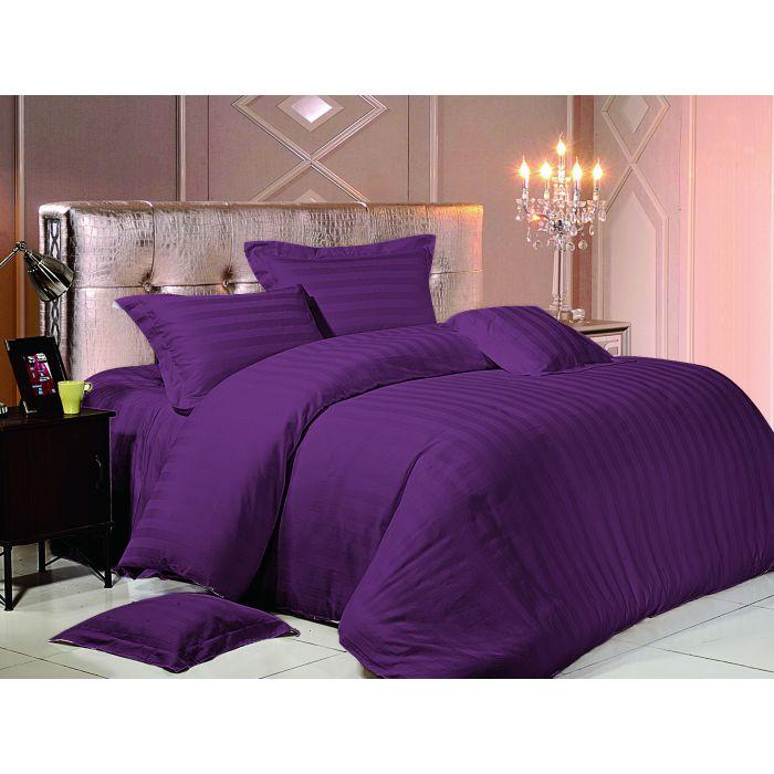 """Комплект постельного белья ТМ """"LOVE YOU"""" темно-фиолетовый"""