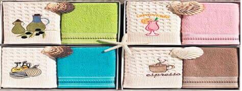 Кухонные салфетки и полотенца