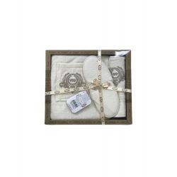 Мужской комплект для бани Purry (юбка, полотенце 50*90, тапочки) кремовый (ts-02391)