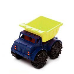 Игрушка для игры с песком - МИНИ-САМОСВАЛ (цвет лаймовый-океан) (BX1418Z)