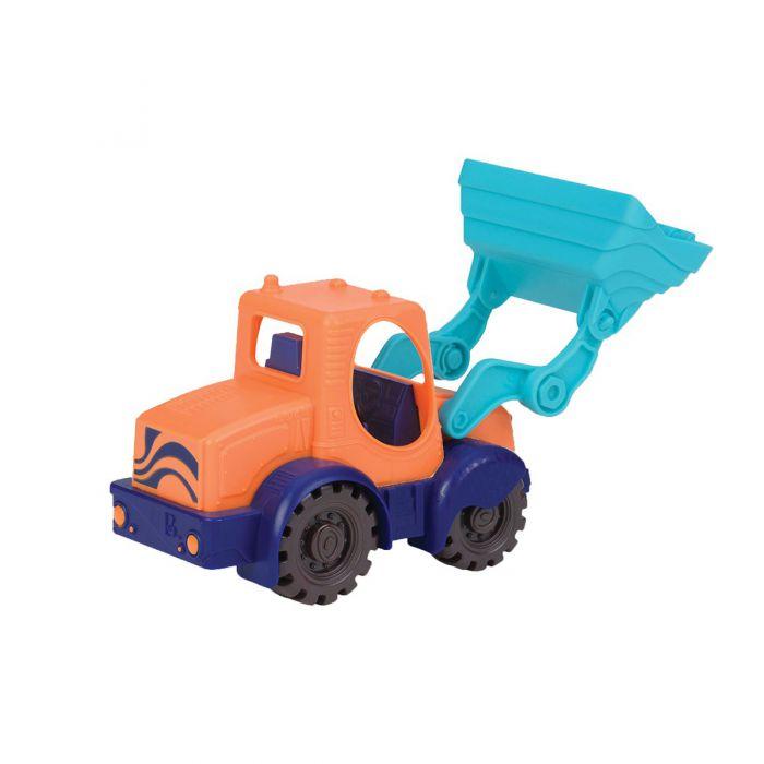 Игрушка для игры с песком - МИНИ-ЭКСКАВАТОР (цвет манго-сливово-томатный) (BX1440Z)