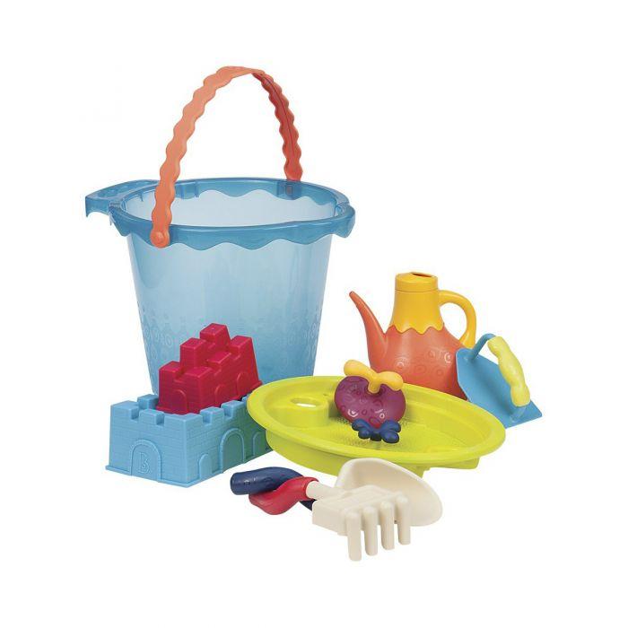 Набор для игры с песком и водой Battat - МЕГА-ВЕДЕРЦЕ МОРЕ BX1444Z