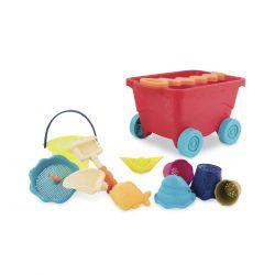 Набор для игры с песком и водой - ТЕЛЕЖКА МАНГО (BX1594Z)