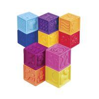 Развивающие силиконовые кубики Battat  - ПОСЧИТАЙ-КА! (10 кубиков, в сумочке) BX1002Z