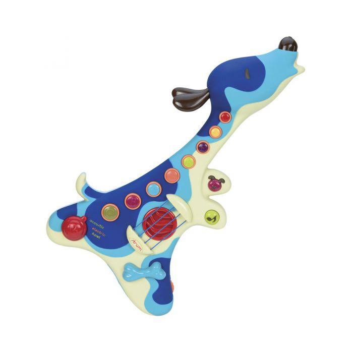 Музыкальная игрушка Battat  ПЕС-ГИТАРИСТ (звук BX1206Z