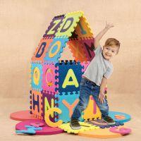 Детский развивающий коврик-пазл Battat - ABC BX1210Z