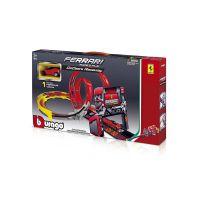 Игровой набор Bburago  GoGears Ferrari - ТРЕК «ДВОЙНАЯ ПЕТЛЯ» 18-31301