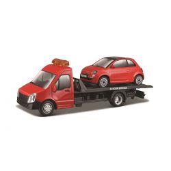 Игровой Набор - Автоперевозчик C Автомоделью Fiat (18-31402)