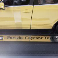 Автомодель Bburago- PORSCHE CAYENNE TURBO (ассорти белый, желтый, 1:24) 18-21056