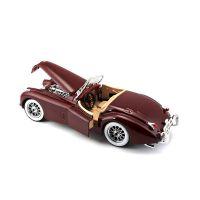 Автомодель Bburago - JAGUAR XK 120 (1951) (ассорти вишневый, серебристый, 1:24) 18-22018