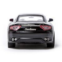 Автомодель Bburago - MASERATI GRANTOURISMO (2008) (ассорти черный, серебристый, 1:24) 18-22107