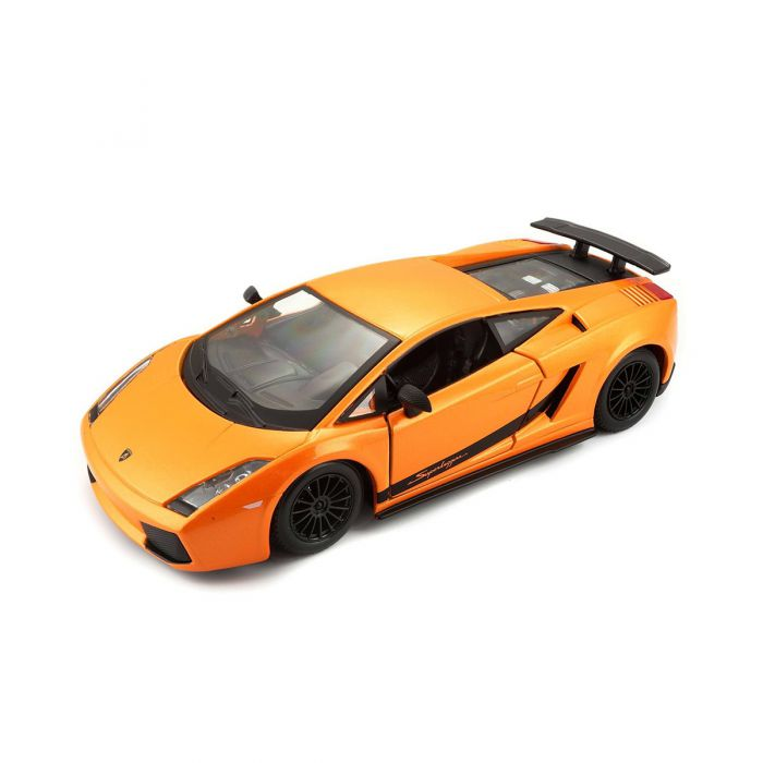 Автомодель Bburago - LAMBORGHINI GALLARDO SUPERLEGGERA (2007) (оранжевый металлик, 1:24) 18-22108