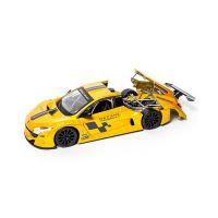 Автомодель Bburago- RENAULT MEGANE TROPHY (желтый металлик, 1:24) 18-22115
