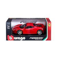Автомодель  Bburago- 458 ITALIA (ассорти желтый, красный, 1:24) 18-26003