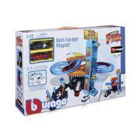 Игровой набор bburago-  ПАРКИНГ (3 уровня, 2 машинки 1:43) 18-30361