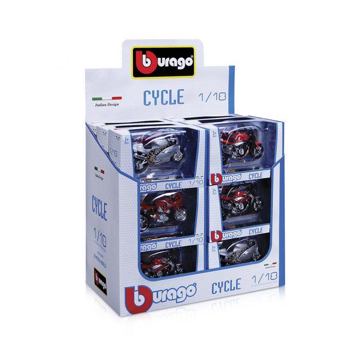 Модели Bburago- МОТОЦИКЛОВ (1:18)  18-51030
