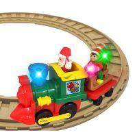 Игровой набор с железной дорогой Kiddieland - РОЖДЕСТВЕНСКИЙ ЭКСПРЕСС (056770)