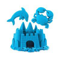 Песок для детского творчества - KINETIC SAND NEON (голубой) (71423B)