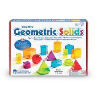 Обучающий игровой набор LEARNING RESOURCES – 3D-ГЕОМЕТРИЯ (LER4331)