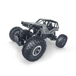 Автомобиль Sulong Toys Off-Road Crawler На Р/У – Rock (1:18) (Серебристый, Метал. Корпус, 1:18) SL-111RHS