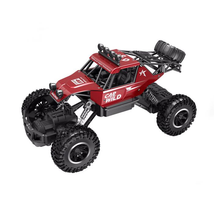 Автомобиль Sulong Toys Off-Road Crawler На Р/У – Car Vs Wild (Красный) SL-109AR