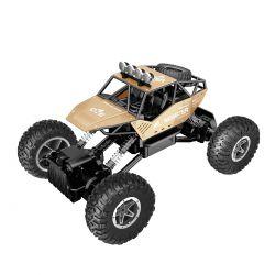 Автомобиль  Sulong Toys Off-Road Crawler На Р/У – Force (Золотой, Аккум. 7.2V, Метал. Корпус, 1:14) SL-122RHG
