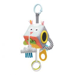 Развивающая игрушка-кубик - ВЕСЕЛЫЕ ЗВЕРУШКИ