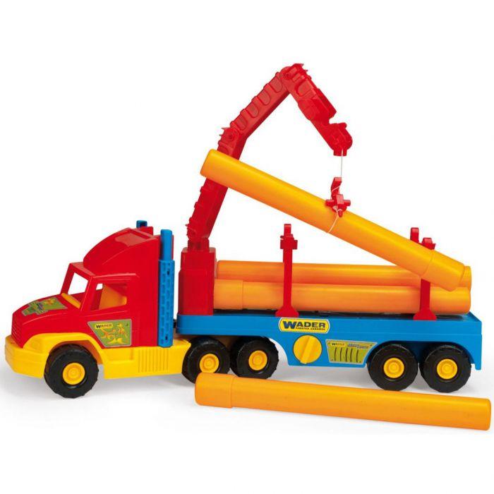 Машинка Super Truck строительный Wader (36540)