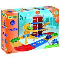 Игровой набор машинки Kid Cars 3D - паркинг 3 этажа (4,6 м.) (53040) Wader