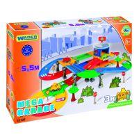Игровой набор машинки Kid Cars 3D - гараж с трассой (5,5 м)