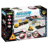 Игровой набор машинки Play Tracks City - аэропорт (53550) Wader