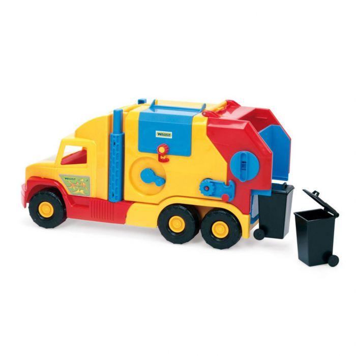Машинка Super Truck мусоровоз малый