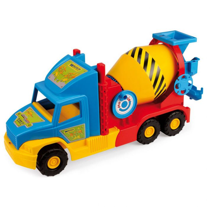 Машинка Super Truck бетономешалка малая Wader (36590)