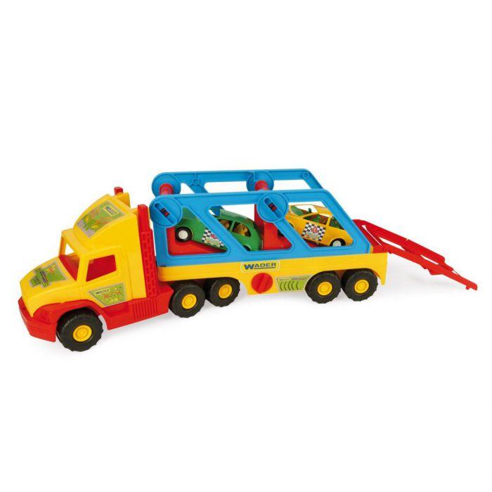 Машинка Super Truck с авто-купе Wader (36640)