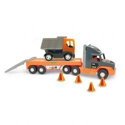 Машинка Super Tech Truck с грузовиком Wader (36710)