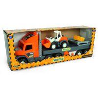 Машина Super Tech Truck с бульдозером Wader (36720)