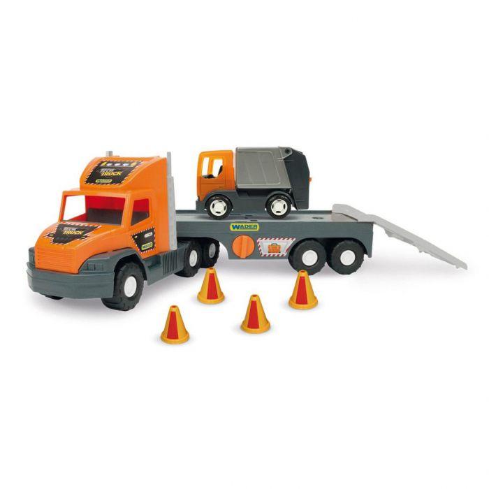 "Машинка ""Wader""  Super Tech Truck с мусоровозом 36730"