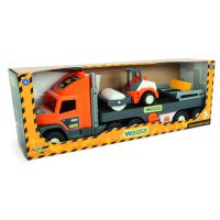 Машинка Super Tech Truck с катком Wader (36740)