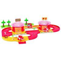 Игровой набор машинки Kid Cars набор пожарная станция