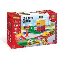 Игровой набор машинки Play Tracks Garage - гараж 2 поверхи Wader (53010)