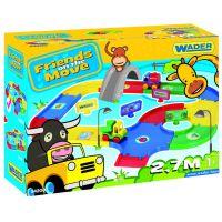 "Игровой набор машинки ""Friends on the move"" - трасса 2,7 м Wader (54200)"