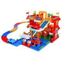 Игровой набор машинки Гараж с дорогой Wader (50400)