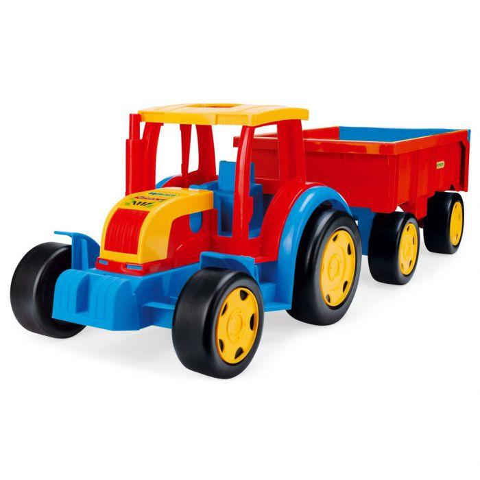 Трактор Гигант с прицепом